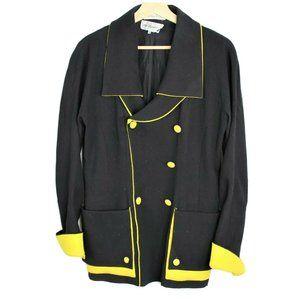 Vintage 80s Neiman Marcus Karl Lagerfeld Blazer 38